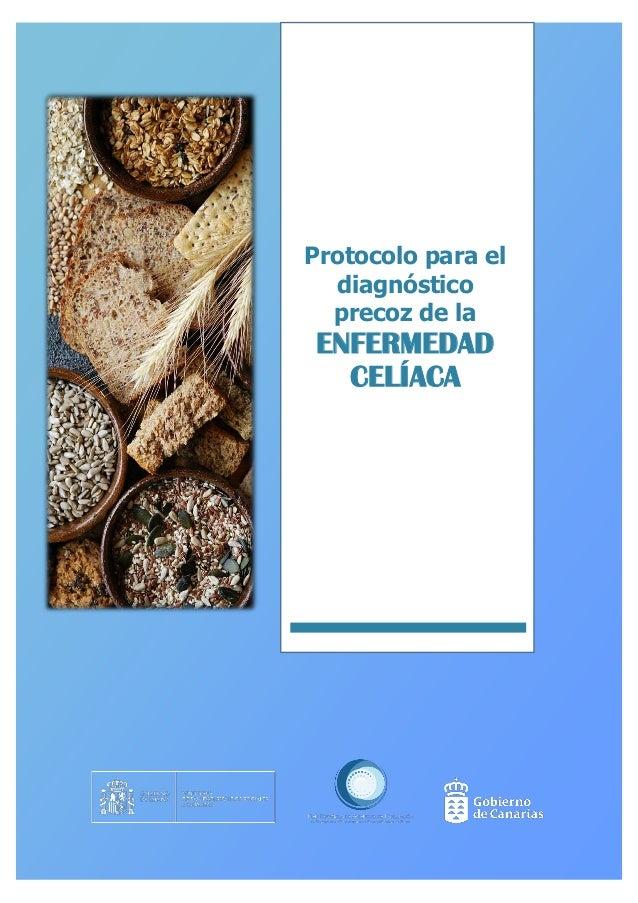 Protocolo para el diagnóstico precoz de la ENFERMEDAD CELÍACA