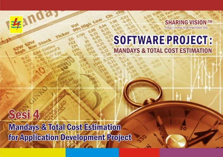 55      1   :: Mandays and Total Cost Estimation for Application Development Project ::