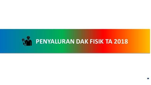 PENYALURAN DAK FISIK TA 2018 10