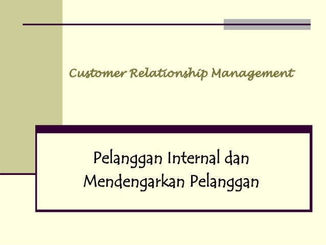 The Importance of Managing Internal Relationships