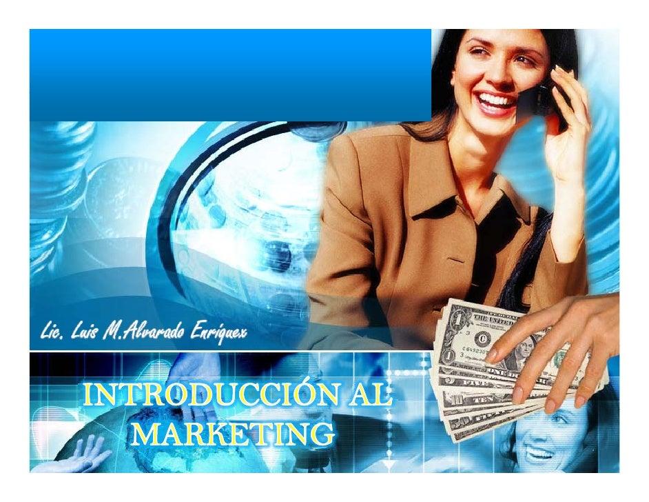 Breve Presentación PersonalNombreOcupación ActualMetas PersonalesQué cosa es Marketing?Q é         M k ti ?