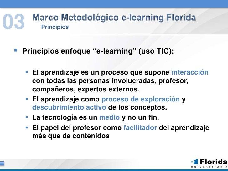 Diseño y gestión de formación on line Slide 3