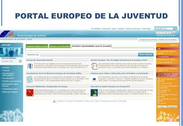 37PORTAL EUROPEO DE LA JUVENTUD