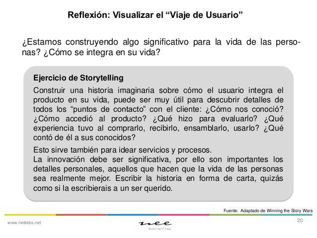 """Reflexión: Visualizar el """"Viaje de Usuario"""" ¿Estamos construyendo algo significativo para la vida de las personas? ¿Cómo s..."""