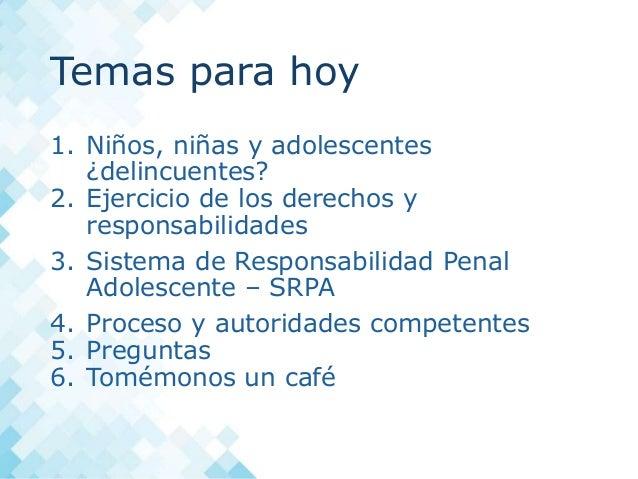 Redes protectoras sesi n 5 sistema de responsabilidad for Porte y trafico de estupefacientes codigo penal