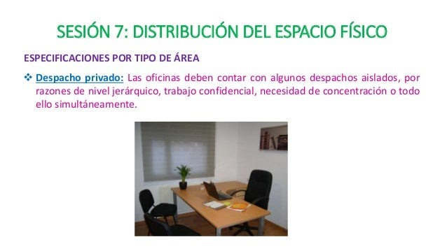 Sesi n 8 distribucion del espacio fisico for Oficina virtual de distribucion