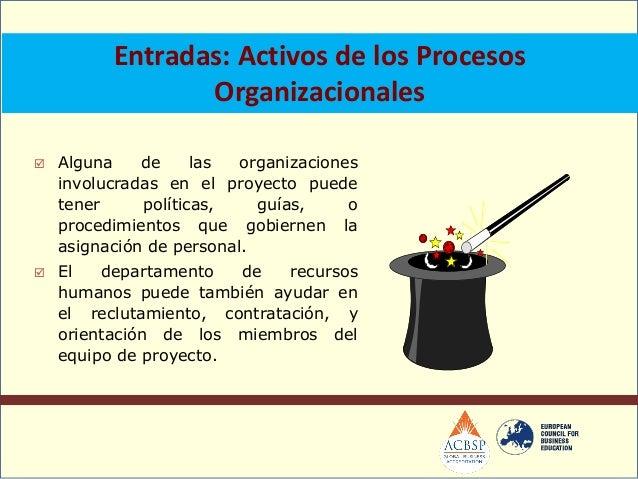 Herramientas y Técnicas: Negociación En muchos proyectos se negocian lasasignaciones de personal, por ejemplo con:o Geren...