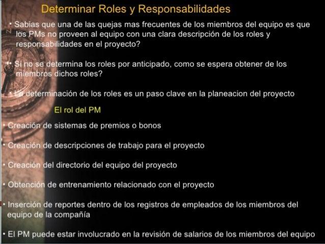 Proceso 9.1:Planificación de losRecursos Humanos