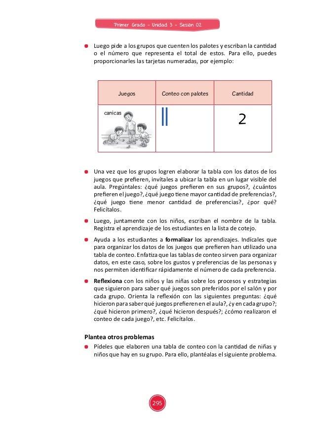 Juegos Conteo con palotes Cantidad Plantea otros problemas  Pídeles que elaboren una tabla de conteo con la cantidad de n...