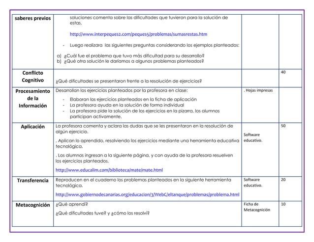 soluciones comenta sobre las dificultades que tuvieron para la solución de estas.  saberes previos  http://www.interpeques...