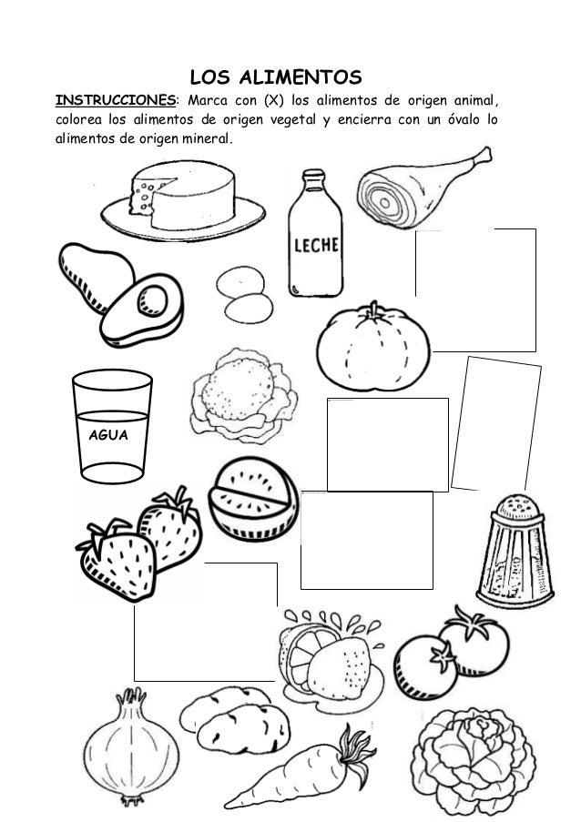 Lujo Hojas Para Colorear Nutrición Ideas - Dibujos Para Colorear En ...