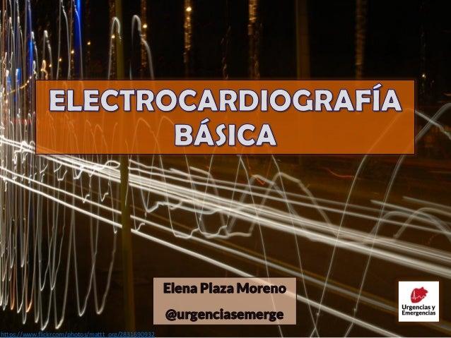 Elena Plaza Moreno @urgenciasemerge https://www.flickr.com/photos/mattt_org/2831690932