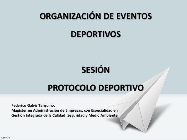 Federico Galvis Tarquino. Magister en Administración de Empresas, con Especialidad en Gestión Integrada de la Calidad, Seg...