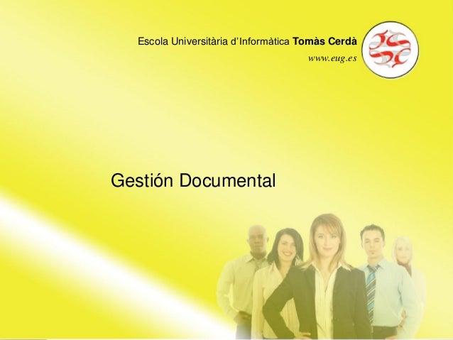 Escola Universitària d'Informàtica Tomàs CerdàEscola Universitària d'Informàtica Tomàs Cerdà                              ...