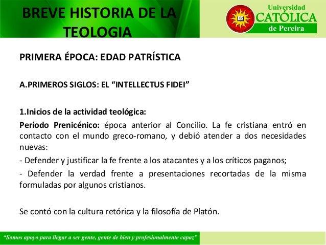Breve Historia de la Teología Sesión V Slide 3