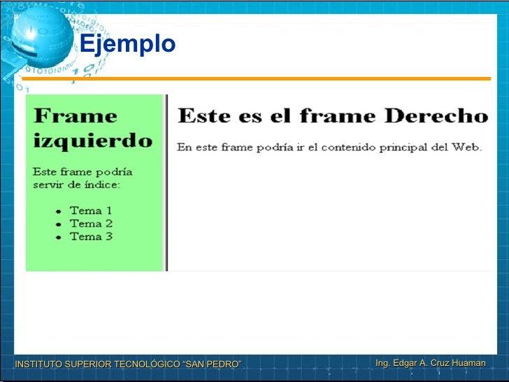 Sesion Nº8 Html Avanzado Frames En El Www