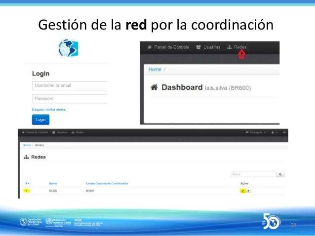 30 Responsabilidades del gestor de usuarios en BIREME Accounts (1)  Crear los usuarios, atribuir as fuentes de informació...