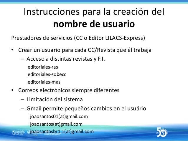 Instrucciones para la creación de usuarios 38