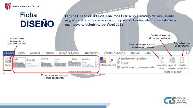 Sesion 02 - Microsoft Word 2013