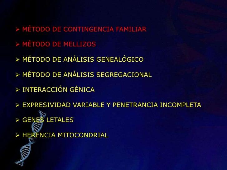 <ul><li> MÉTODO DE CONTINGENCIA FAMILIAR