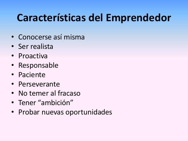 Características de una mujer emprendedora