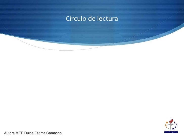 Círculo de lectura<br />