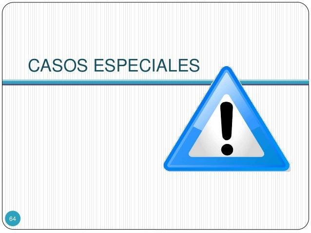CASOS ESPECIALES 64