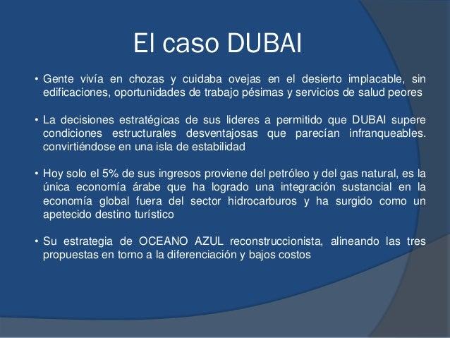 El caso DUBAI • Gente vivía en chozas y cuidaba ovejas en el desierto implacable, sin edificaciones, oportunidades de trab...
