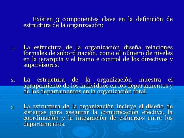 Sesion 3 Fundamentos De La Estructura Organizacional