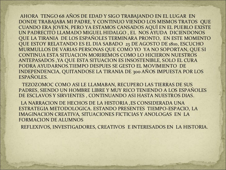 <ul><li>AHORA  TENGO 68 AÑOS DE EDAD Y SIGO TRABAJANDO EN EL LUGAR  EN DONDE TRABAJABA MI PADRE, Y CONTINUO VIENDO LOS MIS...