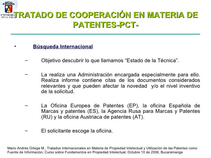 Sesion 5 patentes for Oficina de patentes y marca