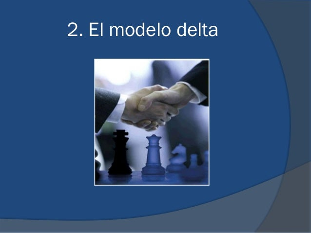 2. El modelo delta