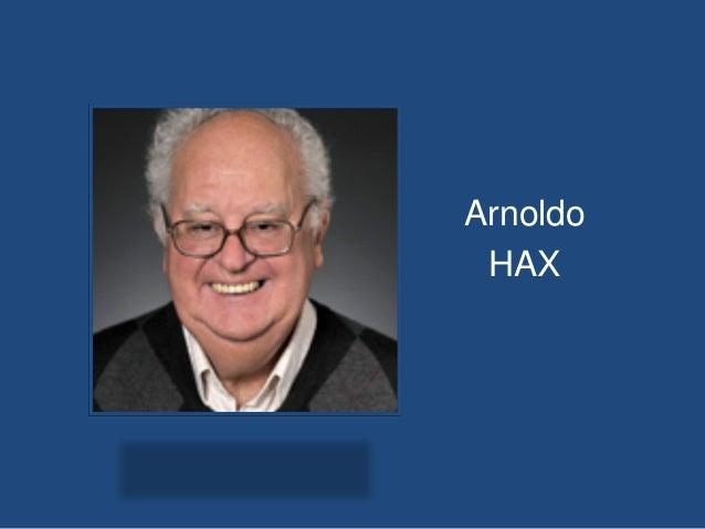 Arnoldo HAX