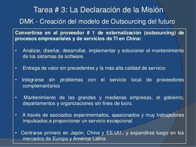 """LA TRANSFORMACION DE """"DMK"""" AMBITO AHORA EN EL FUTURO Del Cliente Principalmente grandes empresas, departamentos gubernamen..."""