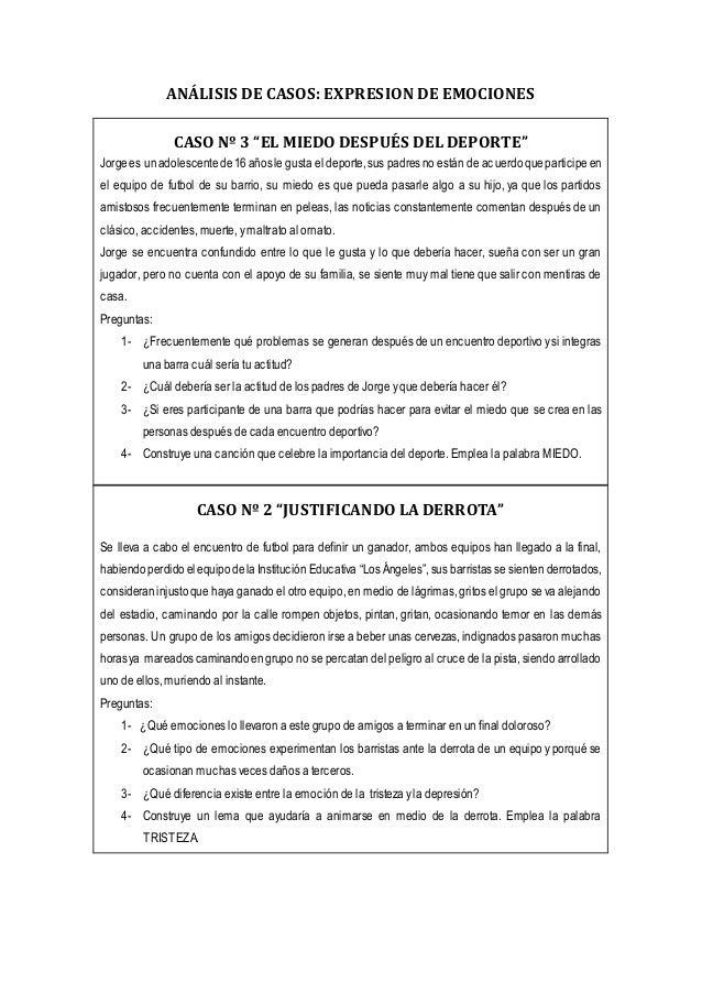 """CASO Nº 4 """"EL ARBITRO TIENE LA CULPA"""" En el encuentro de futbol ambos grupos, """"Los Tigres"""" y """"Los Leones"""" definen la final..."""