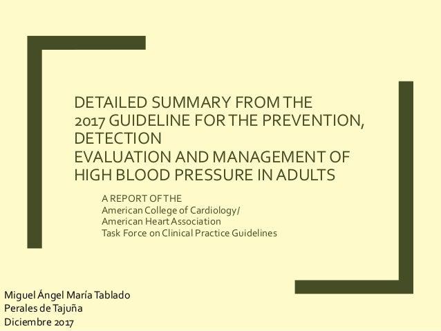 hypertension management guidelines 2017 pdf