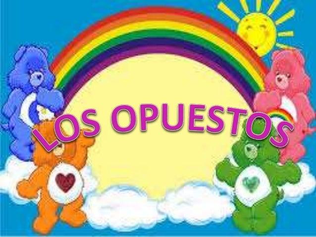 SESIÓN: LOS OPUESTOS