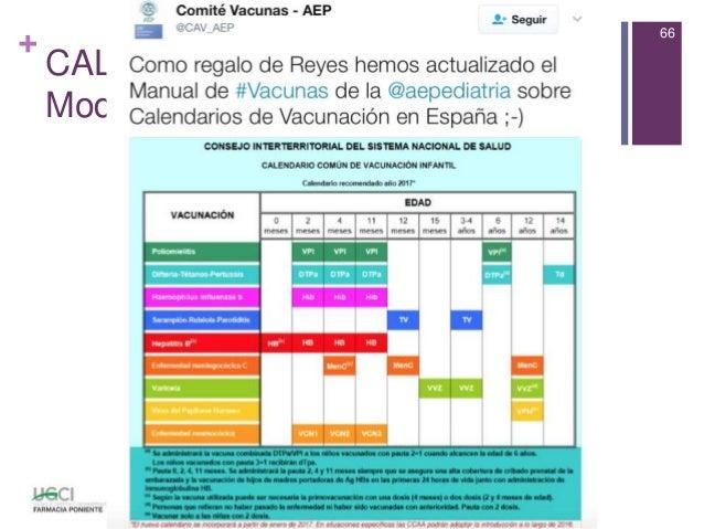 Calendario Vacunal Andalucia.Sesion Vacunas 2017