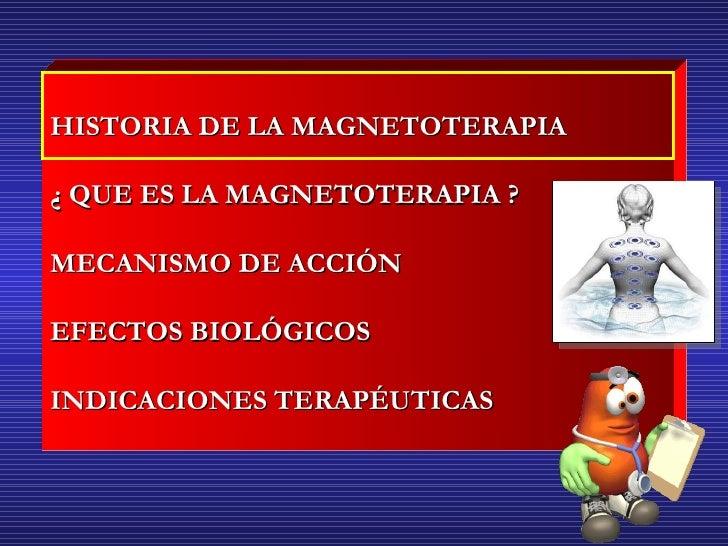 Magnetoterapia Slide 2