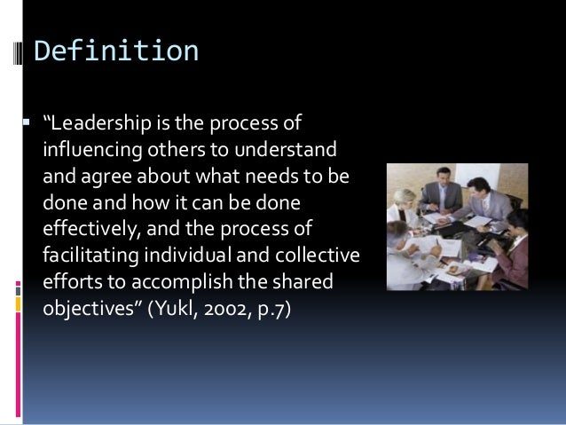 A holistic approach to understanding organizational leadership