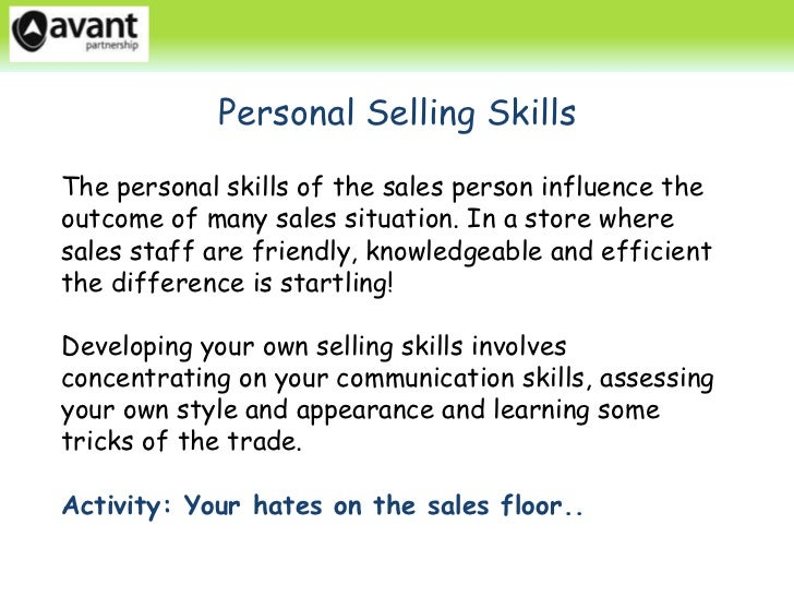 personal selling assignment Btec first business unit 5 sales and personal selling part of the btec first in business from 2012 series.