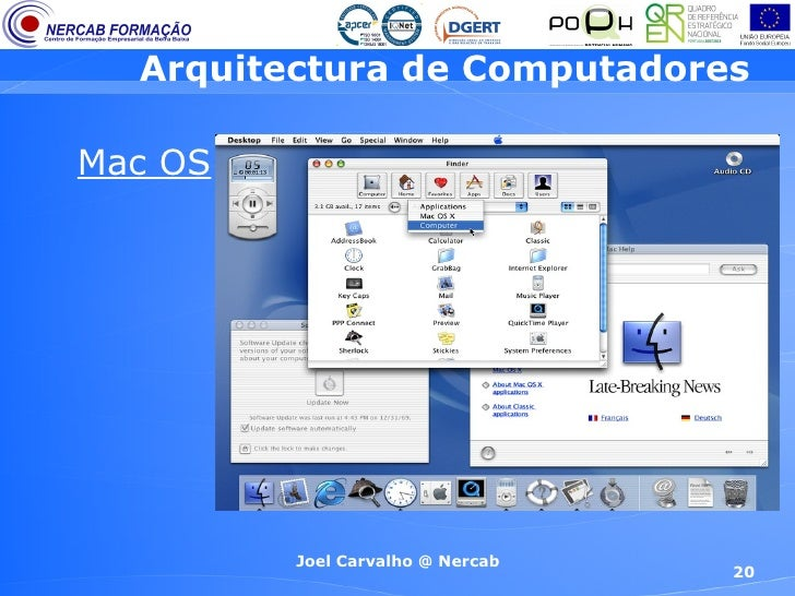 Arquitectura de computadores 2 efa 9 ano for Arquitectura de computadores