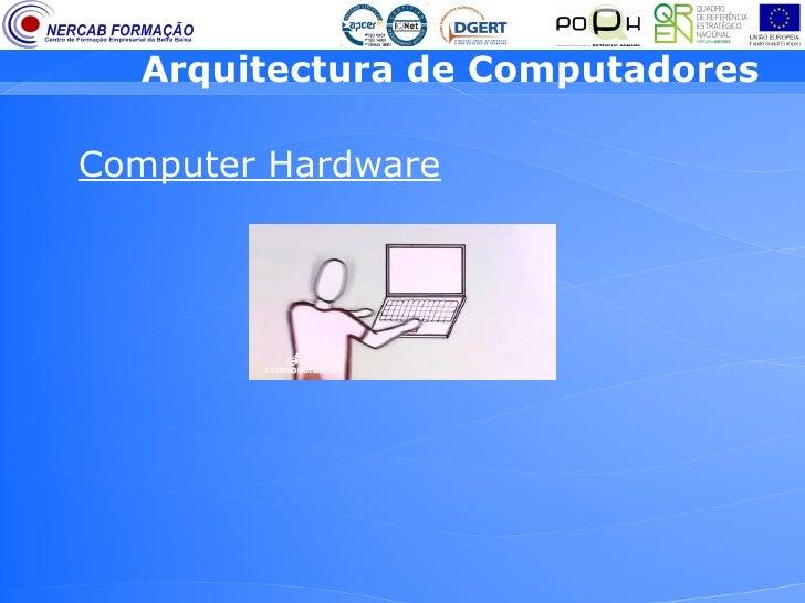 Arquitectura de computadores 2 efa 9 ano for Arquitectura hardware