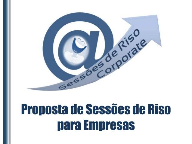 Proposta de Sessões de Riso para Empresas
