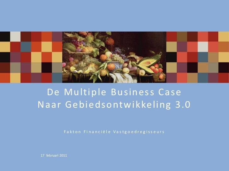 De Multiple  Business Case  Naar Gebiedsontwikkeling  3.0                                                         ...