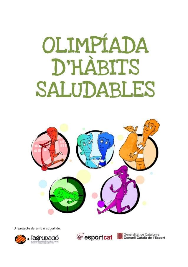 Olimpíada d'hàbits saludables