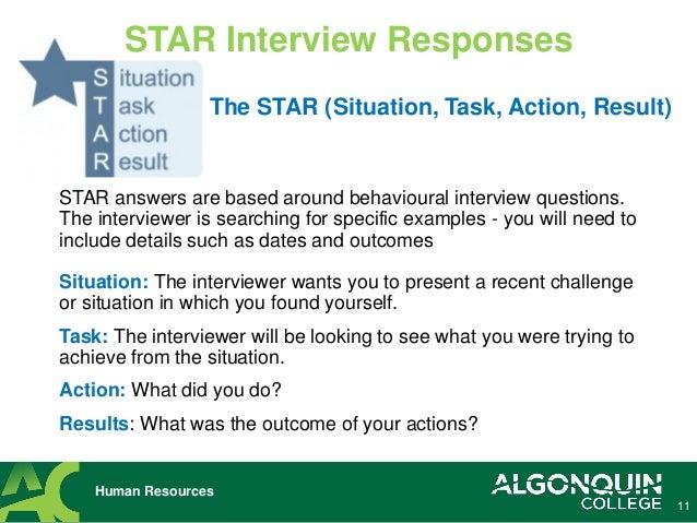 star technique shine in behavioral interview questions cbl