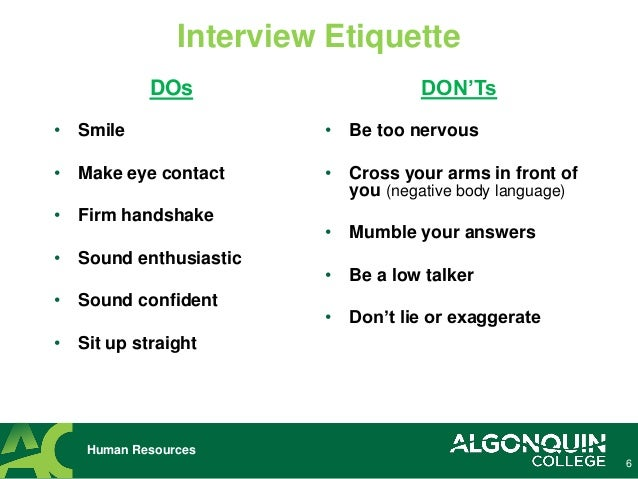 Perfect Tips ... On Interviewing Tips