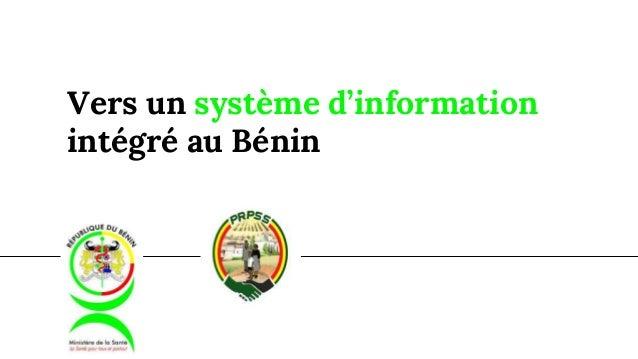 Vers un système d'information intégré au Bénin