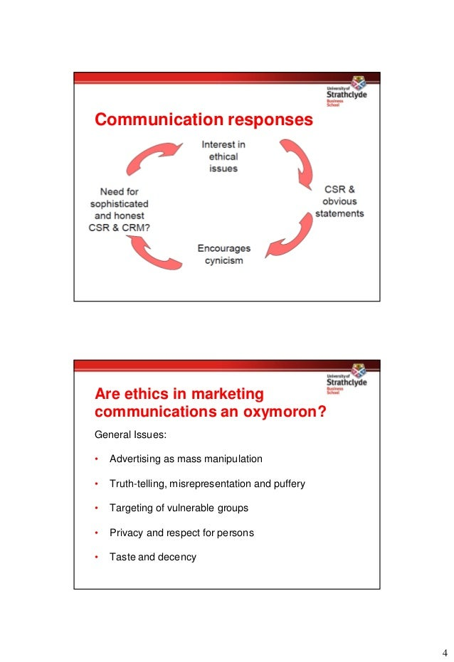 Is marketing ethics an oxymoron?
